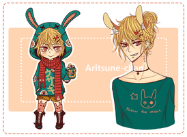 [CLOSED] Adoptable Kemonomimi Boy 3.(updated) by Aritsune-chan