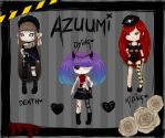 Death Adoptables Auction! 2/3 OPEN by Azuumi-Hime