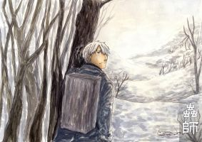 Mushishi Snowfield by HydroENKI