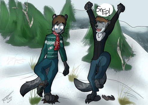 Commission - Snep! (3) by Fox-Fireborn