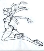 Musa of Winx Club Sketch by animatorsc