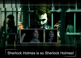 Joker - Holmes by DGalious
