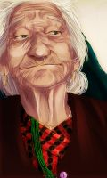 Old lady by AzurLazuly