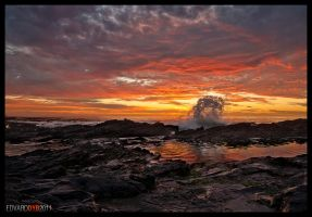 Cape Town sunset by dr-phoenix