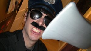 Ax Cop Cosplay Final 2 by DirtyColumbus