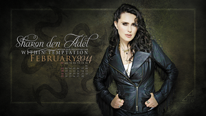 Sharon den Adel ~FEBRUARY 2014 by brockscence