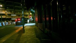streets at night by eWKn