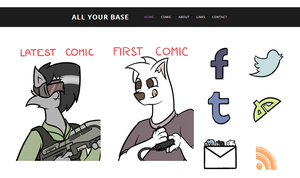 All Your Base Site Preview by DoggonePony