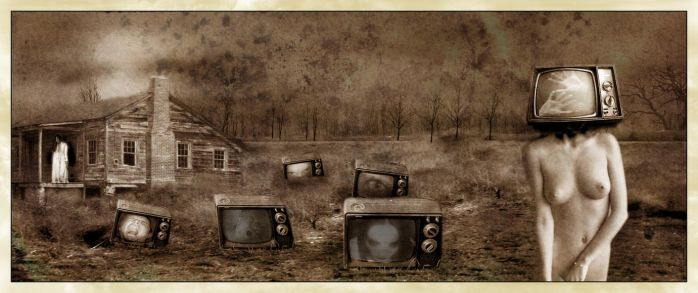 The Strange Lure of the TV Set by FluxusX