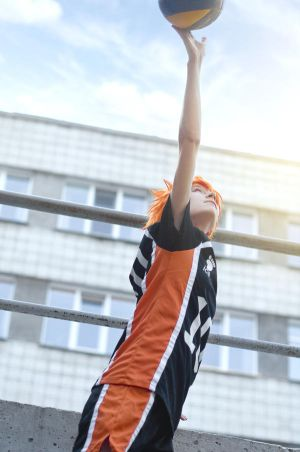 Haikyuu cosplay - 2 by Dokura-chan