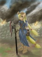 Applejack Stormcloak by TatterTailArt