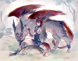 [CLOSED] adopts auction - Aisurah - Wind Strikers by Polis-adopts