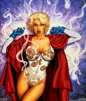 PowerGirl SurprisedXposed+Hair by powerbook125