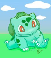 #001 Bulbasaur by CL-Pinkskull