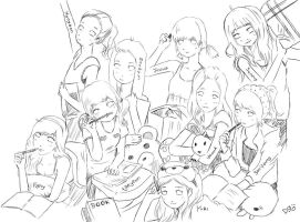 right now is SNSD by deAtHwiSH90