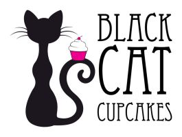 Black Cat Cupcakes by CookieBurglar