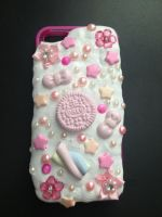 Decoden Frosted iPhone 5/5S Case- Hot Pink by Xecax