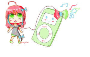 Prize: Ipod Girl by rosaryrinz