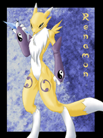 Renamon Impkat version by Impkat