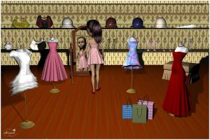 Shopping day  for Lully by mininessie66