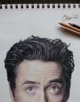 RDJ Drawing by Live4ArtInLA