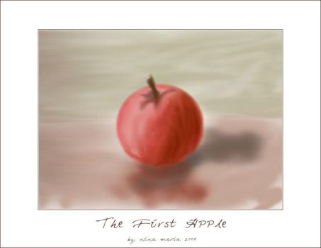 First Apple by malicia