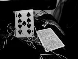 9 aces and the card you dont know by xavier21fando