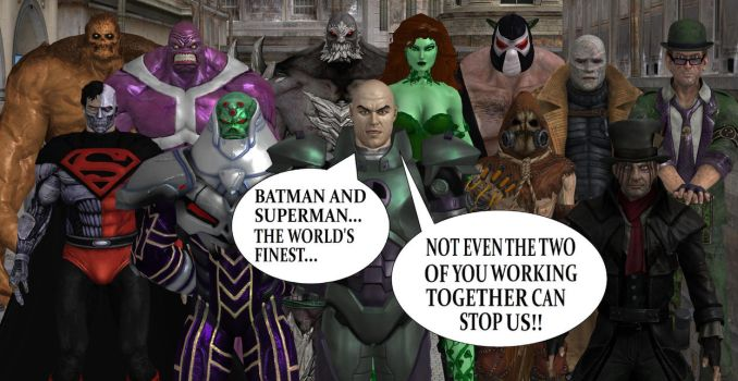 The Legion of Doom by Gery850