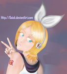 Vocaloid Rin by 6sick