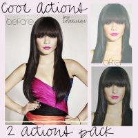 Cool actions - 2 actions pack by lovelielife
