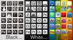 B.W.C icon pack - by Patan77 by Patan77xD
