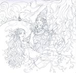 WIP - Eurydice in Hades by rachelillustrates