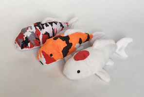 Koi Plushies by SewnRiver