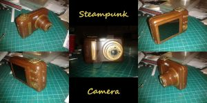Steampunk Camera by LordDelightfullyMad
