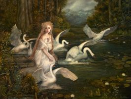 The Lady of Lorien by PinkParasol
