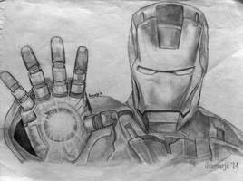 ironman by ilkamarja