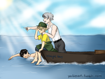 JKMM - Lost At Sea by The-Colour-of-Sand96