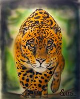 Jaguar airbrush by dx