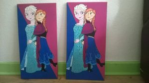 Anna and Elsa by Will1885