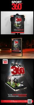Sport 360 Poster by captainrajor