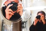 Self Portrait - two views by CouchyCreature