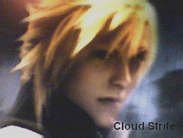 Cloud Strife by frenchguy