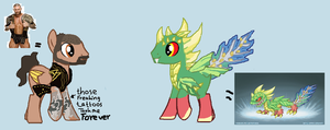 ponies for UltimateVideoGamerB!! by tiffanykip