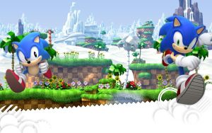 Sonic Generations Wallpaper by Silversonicvxd