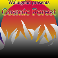 Cosmic Forest Front Cover by waluigisrevenge