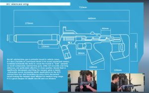 Halo 3 : ODST Smg Blueprints, by DFT by CpCody