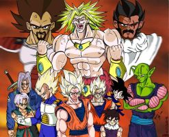 Those That Faced The Legend by dragonballdeviants