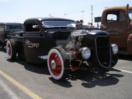 Another Black Hot Rod Truck by Jetster1