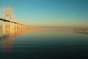 Vasco da Gama Bridge by skypho