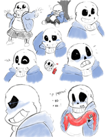 This COMIC makes no SANS! by Memiz